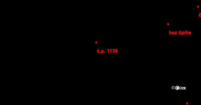 Doubravka 1139, Plzeň na parcele st. 515/20 v KÚ Doubravka, Katastrální mapa