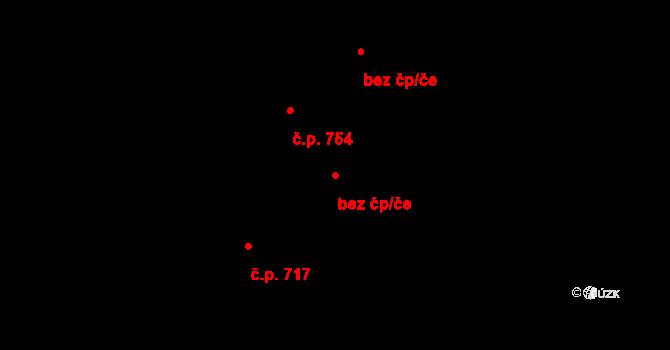 Stonava 43990266 na parcele st. 307/2 v KÚ Stonava, Katastrální mapa