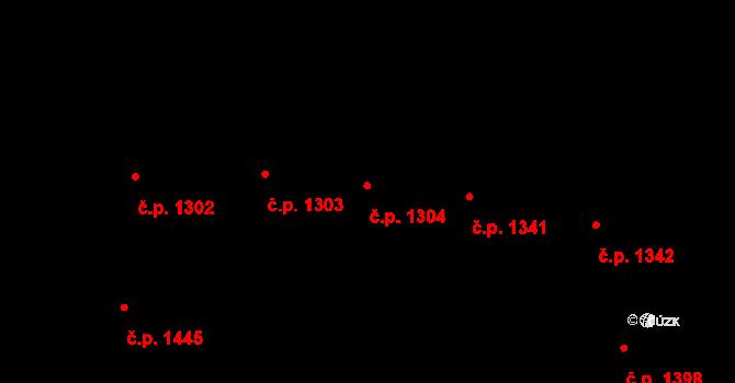 Vinohrady 1304, Praha na parcele st. 2927 v KÚ Vinohrady, Katastrální mapa