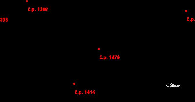 Kylešovice 1479, Opava na parcele st. 2724/161 v KÚ Kylešovice, Katastrální mapa