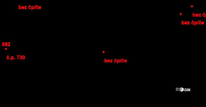 Praha 43120270 na parcele st. 1723/2 v KÚ Chodov, Katastrální mapa