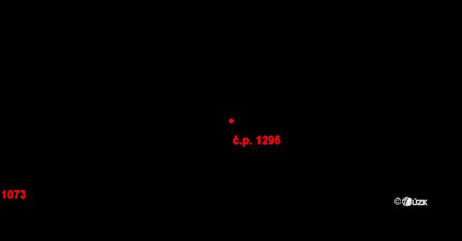 Frýdlant 1295 na parcele st. 1083/39 v KÚ Frýdlant, Katastrální mapa