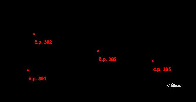 Liberec II-Nové Město 382, Liberec na parcele st. 5101 v KÚ Liberec, Katastrální mapa