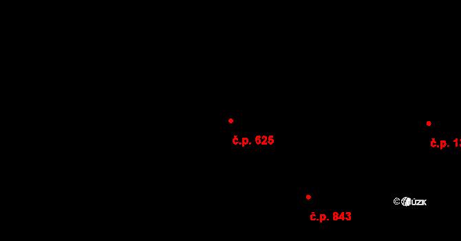 Ráj 625, Karviná na parcele st. 501/79 v KÚ Ráj, Katastrální mapa