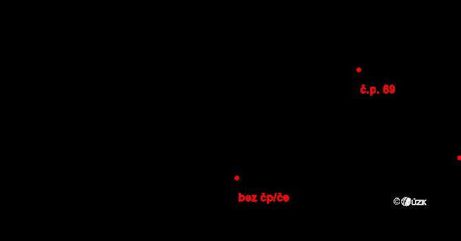 Malé Březno 43682278 na parcele st. 87 v KÚ Malé Březno, Katastrální mapa