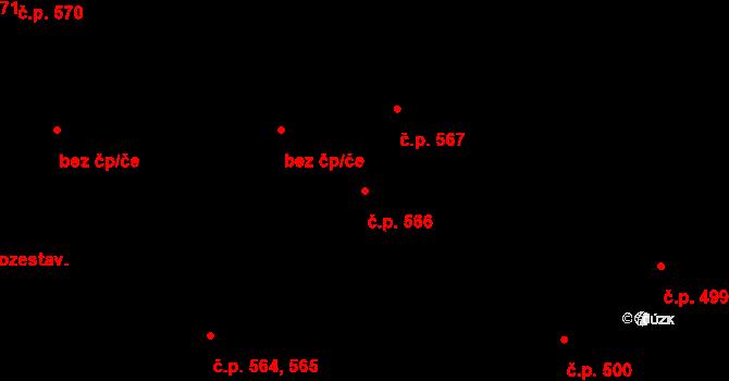 České Budějovice 7 566, České Budějovice na parcele st. 1204 v KÚ České Budějovice 7, Katastrální mapa