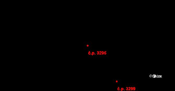 Teplice 3295 na parcele st. 4651/6 v KÚ Teplice, Katastrální mapa