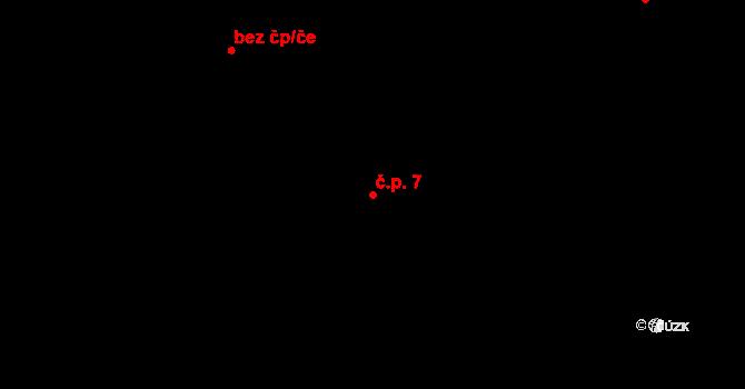 Dolní Bezděkov 7, Bratronice na parcele st. 213 v KÚ Dolní Bezděkov u Kladna, Katastrální mapa