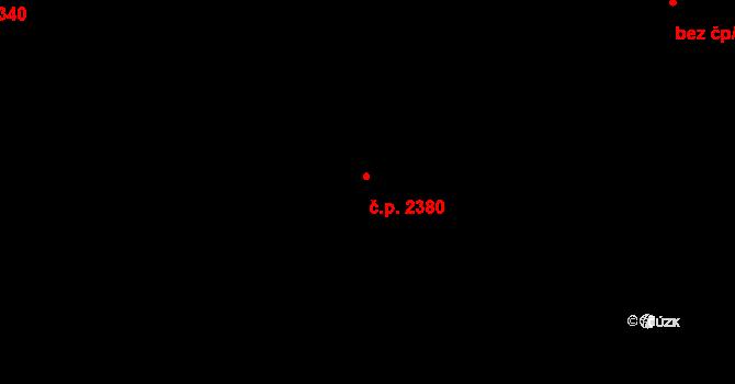 Jihlava 2380 na parcele st. 5592/82 v KÚ Jihlava, Katastrální mapa