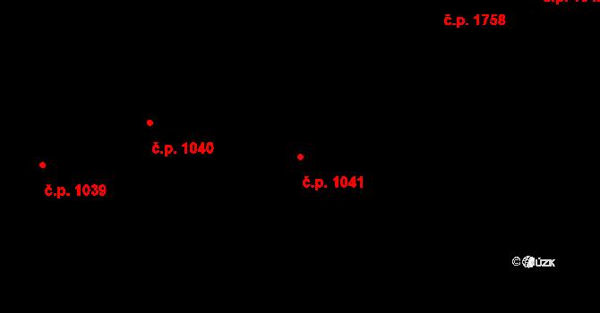 Nové Město 1041, Praha na parcele st. 491 v KÚ Nové Město, Katastrální mapa