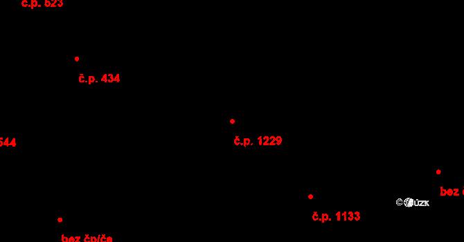 Liberec XIV-Ruprechtice 1229, Liberec na parcele st. 832/3 v KÚ Ruprechtice, Katastrální mapa