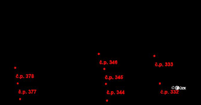Valcha 346, Plzeň, Katastrální mapa