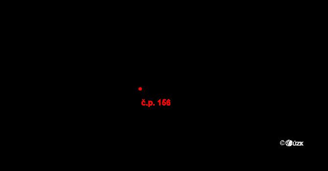 Vítkovice 156 na parcele st. 382 v KÚ Vítkovice v Krkonoších, Katastrální mapa