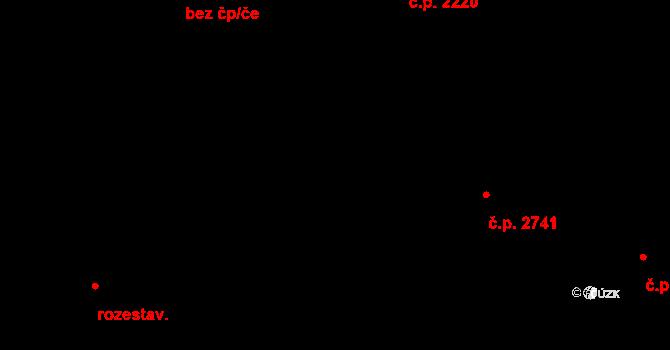 České Budějovice 5 2835, České Budějovice, Katastrální mapa