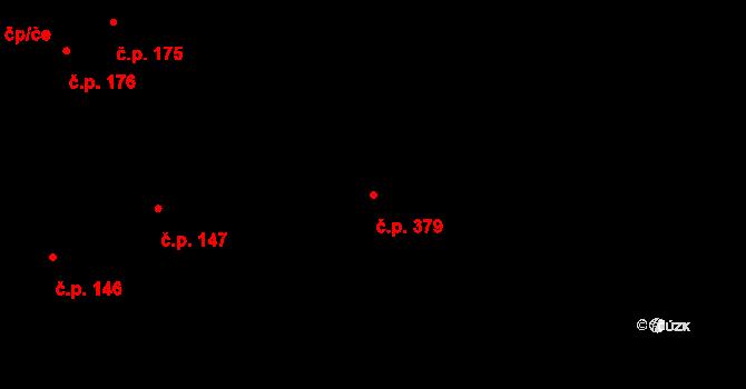 Liberec XIII-Nové Pavlovice 379, Liberec na parcele st. 481/6 v KÚ Nové Pavlovice, Katastrální mapa