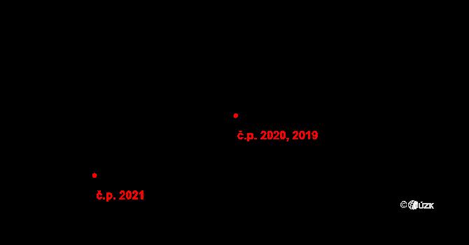 Stodůlky 2019,2020, Praha na parcele st. 2131/75 v KÚ Stodůlky, Katastrální mapa