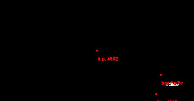 Chomutov 4602 na parcele st. 240/20 v KÚ Chomutov I, Katastrální mapa