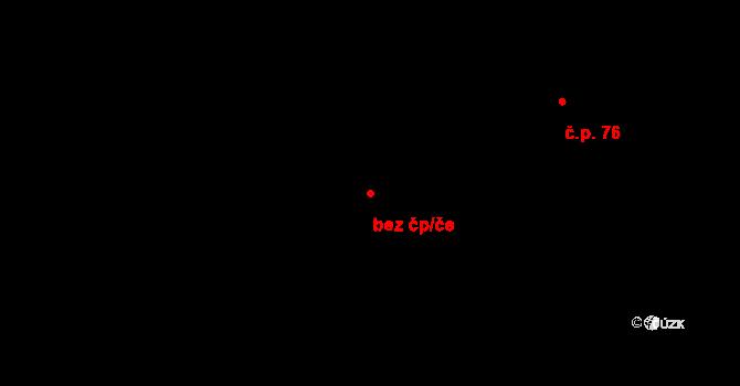 Ostrovec 88416313 na parcele st. 184 v KÚ Horní Ostrovec, Katastrální mapa