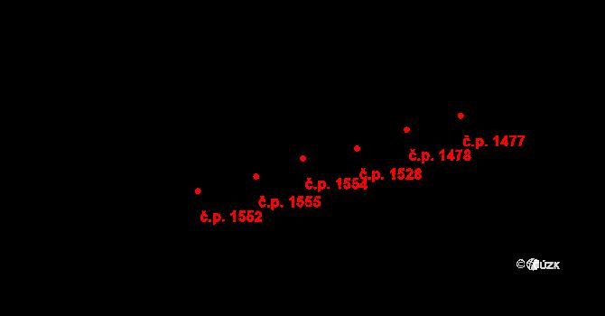 Kylešovice 1554, Opava na parcele st. 2255/51 v KÚ Kylešovice, Katastrální mapa