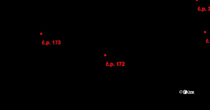 Tasov 172 na parcele st. 4084 v KÚ Tasov, Katastrální mapa