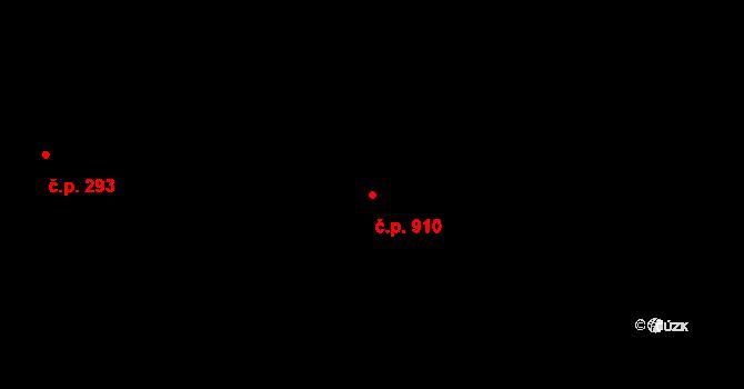 Vysočany 910, Praha na parcele st. 173 v KÚ Vysočany, Katastrální mapa