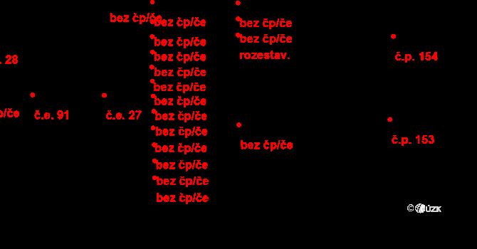Bečov 96049316 na parcele st. 567 v KÚ Bečov u Mostu, Katastrální mapa