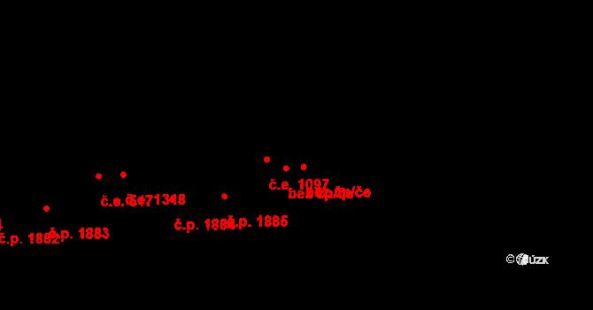 Aš 43158323 na parcele st. 3533 v KÚ Aš, Katastrální mapa