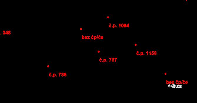 Smržovka 767 na parcele st. 3194 v KÚ Smržovka, Katastrální mapa