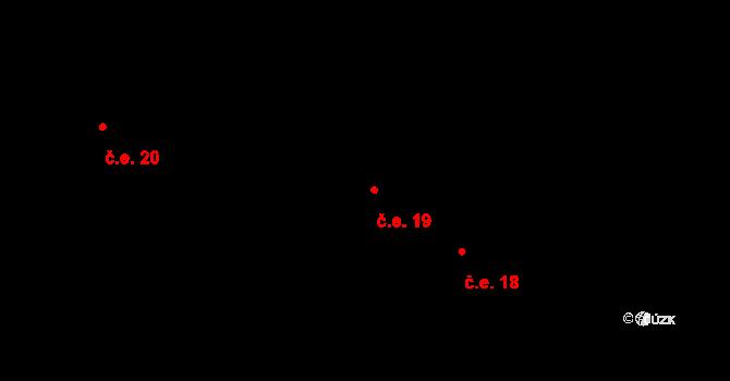 Janova Ves 19, Kokořín na parcele st. 265/39 v KÚ Janova Ves, Katastrální mapa