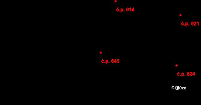 Nová Bělá 645, Ostrava na parcele st. 1226/99 v KÚ Nová Bělá, Katastrální mapa
