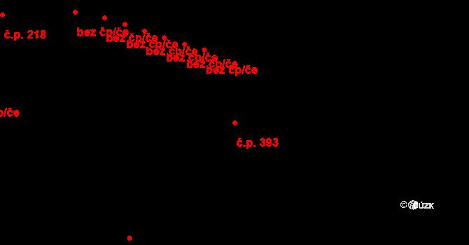 Hradec nad Moravicí 393 na parcele st. 107/4 v KÚ Hradec nad Moravicí, Katastrální mapa