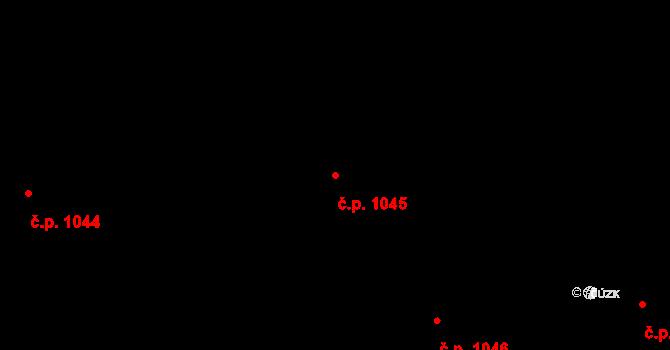 Nové Město 1045, Praha na parcele st. 212/1 v KÚ Nové Město, Katastrální mapa