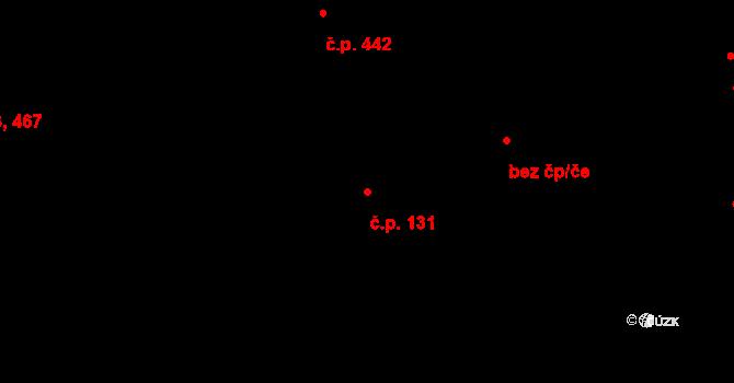 Mladá Boleslav II 131, Mladá Boleslav na parcele st. 683/2 v KÚ Mladá Boleslav, Katastrální mapa