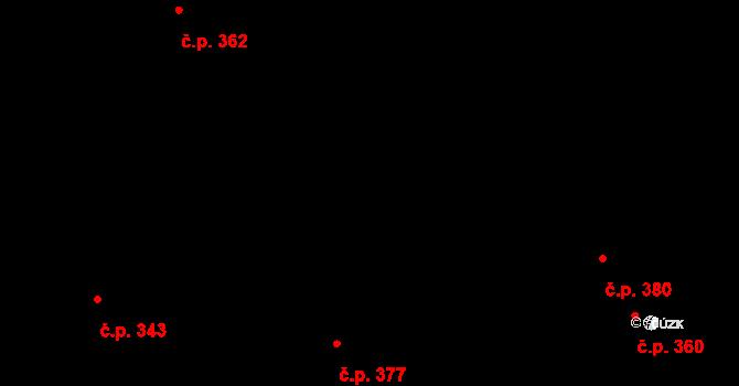 Staré Hodějovice 376, Katastrální mapa