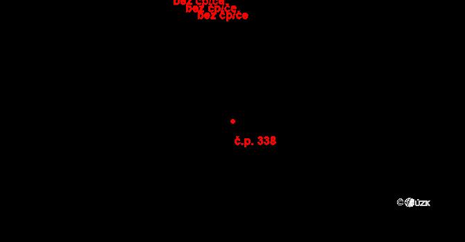 Strakonice I 338, Strakonice na parcele st. 426 v KÚ Strakonice, Katastrální mapa