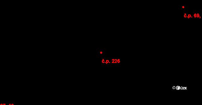Nová Role 226 na parcele st. 277 v KÚ Nová Role, Katastrální mapa