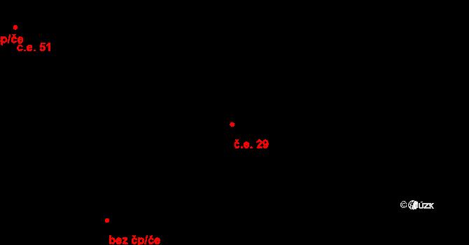 České Budějovice 6 29, České Budějovice na parcele st. 2502/58 v KÚ České Budějovice 6, Katastrální mapa