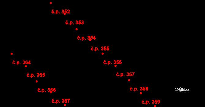 Staré Hory 356, Jihlava na parcele st. 577 v KÚ Staré Hory, Katastrální mapa