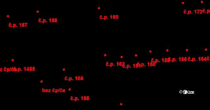 České Budějovice 2 162, České Budějovice na parcele st. 314 v KÚ České Budějovice 2, Katastrální mapa