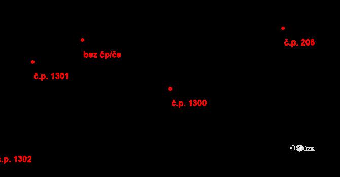 Liberec XIV-Ruprechtice 1300, Liberec na parcele st. 2158/3 v KÚ Ruprechtice, Katastrální mapa