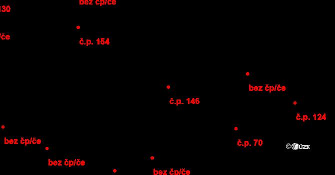 Količín 146, Holešov na parcele st. 226 v KÚ Količín, Katastrální mapa