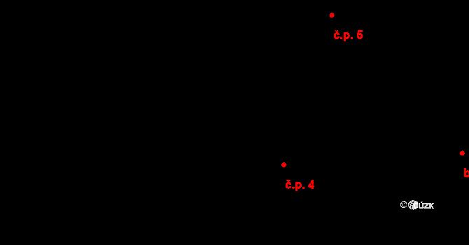 Malejovice 4, Uhlířské Janovice na parcele st. 50/1 v KÚ Mitrov u Uhlířských Janovic, Katastrální mapa