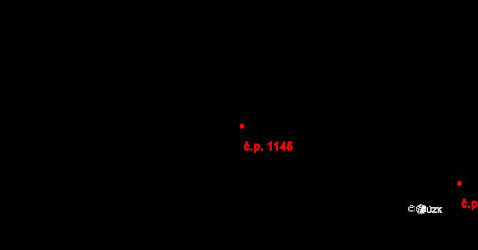 Slezské Předměstí 1145, Hradec Králové na parcele st. 921 v KÚ Slezské Předměstí, Katastrální mapa