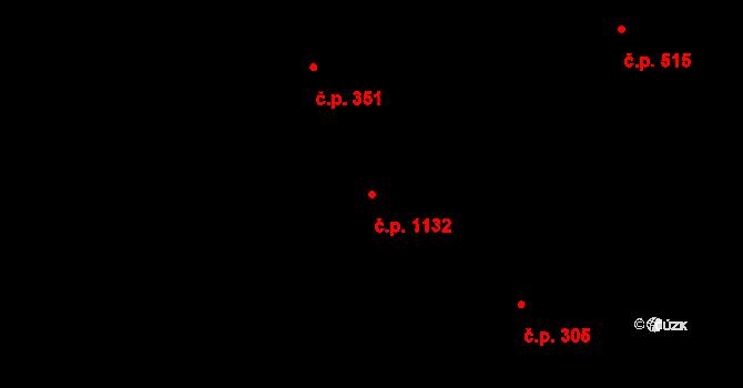 Liberec XIV-Ruprechtice 1132, Liberec na parcele st. 2007/4 v KÚ Ruprechtice, Katastrální mapa