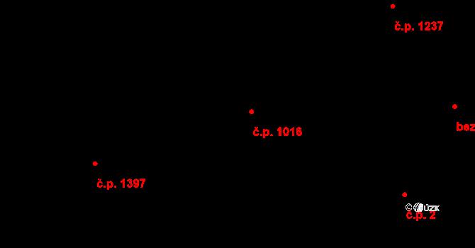 Jeseník 1016 na parcele st. 504/3 v KÚ Jeseník, Katastrální mapa