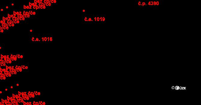 Židenice 1019, Brno na parcele st. 7551/32 v KÚ Židenice, Katastrální mapa