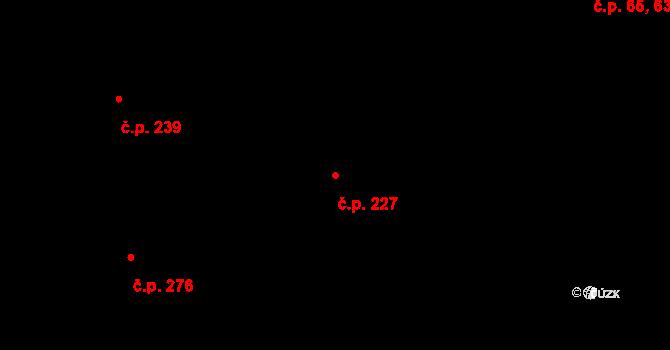 Nová Role 227 na parcele st. 269 v KÚ Nová Role, Katastrální mapa