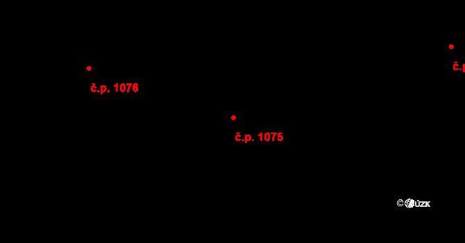 Nivnice 1075 na parcele st. 1981/60 v KÚ Nivnice, Katastrální mapa