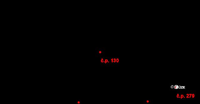 Malé Hoštice 130, Opava na parcele st. 357 v KÚ Malé Hoštice, Katastrální mapa