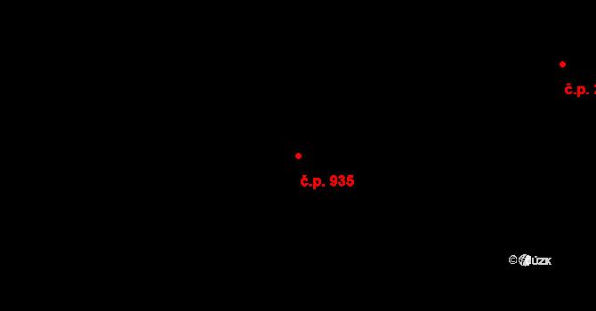 Nové Město 935, Praha na parcele st. 76 v KÚ Nové Město, Katastrální mapa